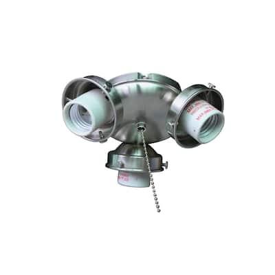 Clarkston II LED Brushed Nickel Light Kit