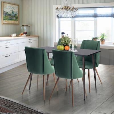 Smeg Green Upholstered Dining Chair (Set of 2)
