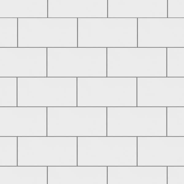 Merola Tile Crown Heights 3 In X 6 In Ceramic Matte White Wall Tile 6 03 Sq Ft Case Web3chmw The Home Depot