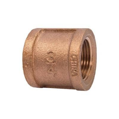 3/4 in. Red Brass Coupling