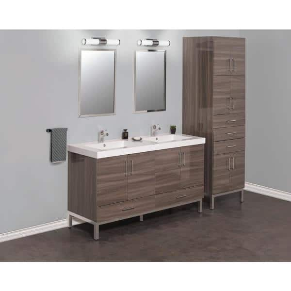 Brushed Stainless Steel Us 1 2030 P, Brushed Stainless Bathroom Mirror