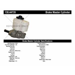 Centric Parts 130.61109 Brake Master Cylinder