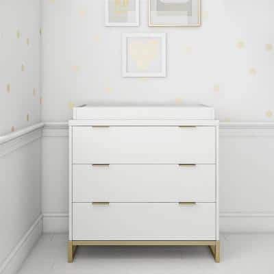 Holly White Dresser Topper