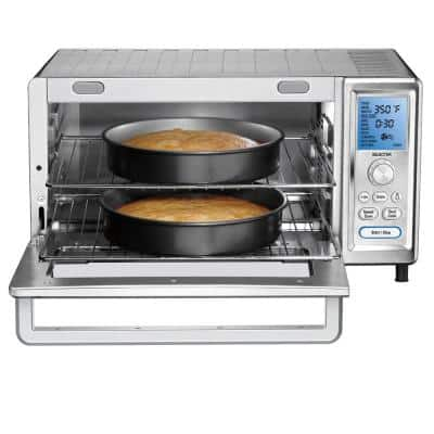 Chef's 1800 W 9-Slice Stainless Steel Toaster Oven