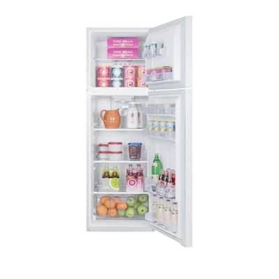 8.8 cu. ft. Top Freezer Refrigerator in White, Counter Depth
