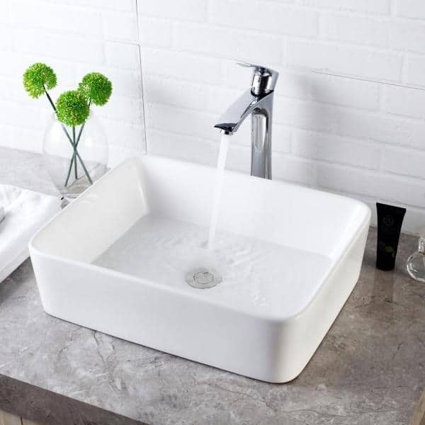 Lordear 16 In X 12 Bathroom, Over Counter Bathroom Sink