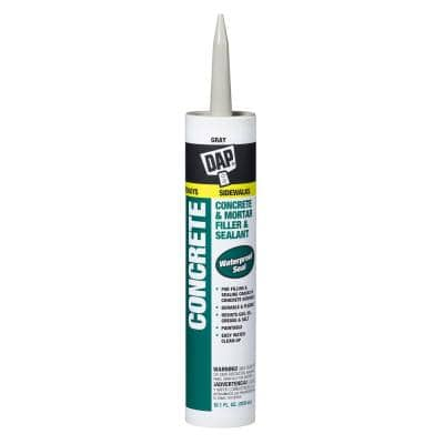 10.1 oz. Gray Concrete and Mortar Filler and Latex Sealant
