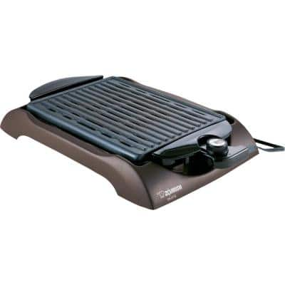 112 sq. in. Brown Non-Stick Indoor Grill with Temperature Control
