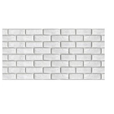 12 in. x 24 in. 3D PVC Peel and Stick Mosaic Tile Peelable Sticker (Set of 40)