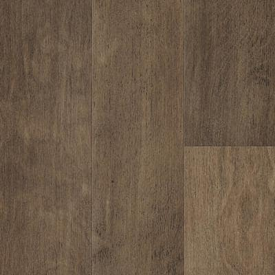 Take Home Sample - Fawn Brown Birch Waterproof Engineered Hardwood Flooring - 5 in. x 7 in.