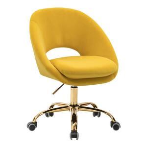 Savas Yellow Swivel Task Chair