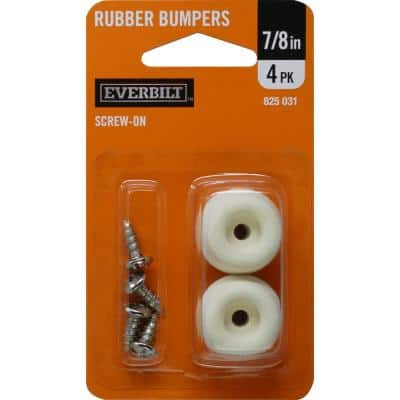 In Rubber On Pers 4 Per Pack, Rubber Feet For Furniture Home Depot
