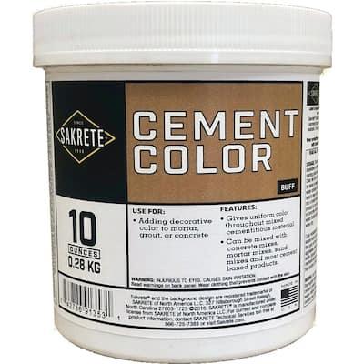 10 oz. Cement Color Buff