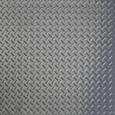 RaceDay Diamond Tread Slate Grey 24 in. x 24 in. Peel and Stick Polyvinyl Tile (40 sq. ft. / case)