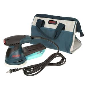 2.5 Amp 5 in. Corded Variable Speed Random Orbital Sander/Polisher Kit with Carrying Bag