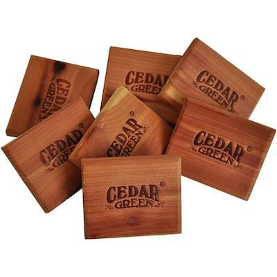2.5 in. H x 2 in. W x 0.375 in. D Aromatic Cedar Scent Blocks (48-Piece)