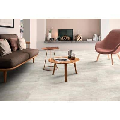 Pavia Cream 12 in. x 24 in. Polished Porcelain Floor and Wall Tile (16 sq. ft./Case)