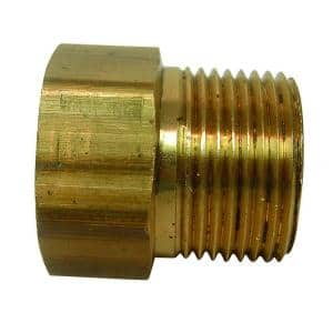 3/4 in. FHT x 3/4 in. MIP or 1/2 in. FIP Brass Multi Adapter Fitting