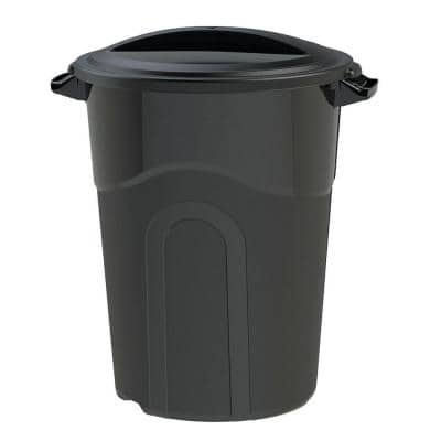 32 Gal. Outdoor Trash Can
