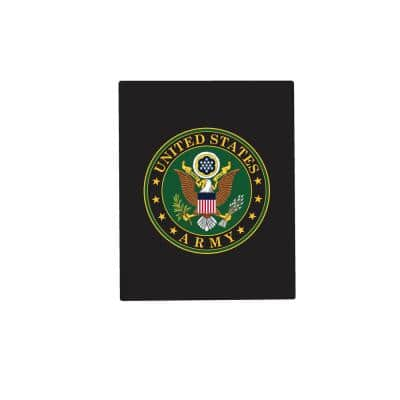 8 in. x 10 in. U.S. Army Metal Sign