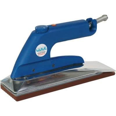 Cool Shield Heat Bond Carpet Seaming Iron with Non-Stick Grooved Base