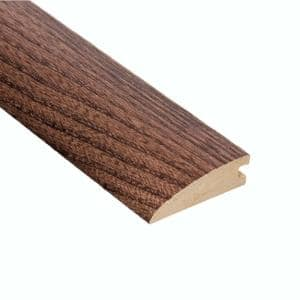 Elm Walnut 5/8 in. Thick x 2 in. Wide x 47 in. Length Hard Surface Reducer Molding