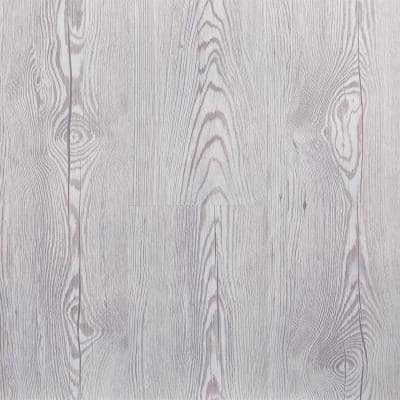 Morning Frost 5.91 in. Width x 48 in. Length Floating Vinyl Plank Flooring (19.69 sq. ft./case)