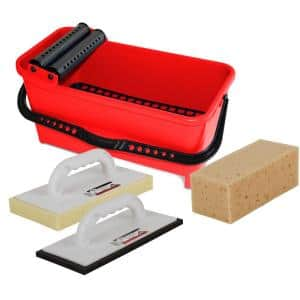 Cleaning Kit with Bucket, Float and Sponge