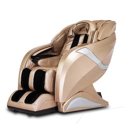 HUBOT Champagne 3D Exquisite Rhythmic HSL-Track Massage Chair