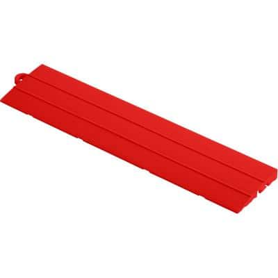 2.75 in. x 12 in. Racing Red Pegged Polypropylene Ramp Edging for Diamondtrax Home Modular Flooring (10-Pack)