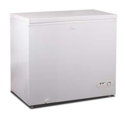 7 cu. ft. Manual Defrost Chest Freezer in White