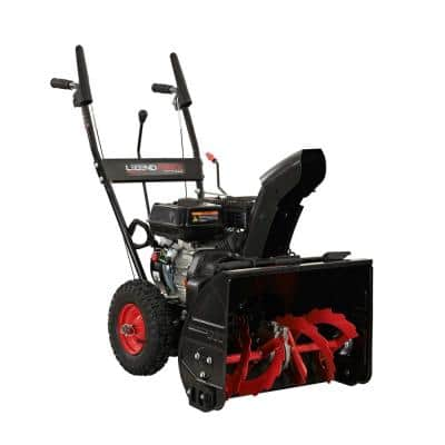 22 in. Two-Stage Gas Snow Blower with Recoil Start