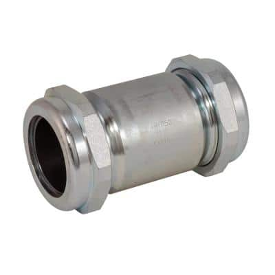 1-1/2 in. IPS x 5 in. Long Pattern Galvanized Steel Compression Coupling