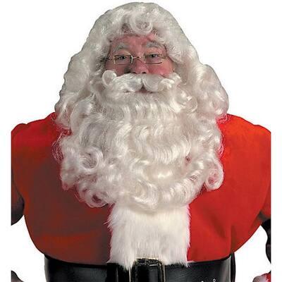 Professional Santa Beard and Wig Set