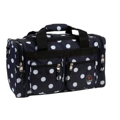 Rockland Freestyle 19 in. Tote Bag, Black dot