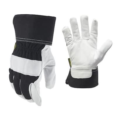 Goatskin Leather Palm Large Glove