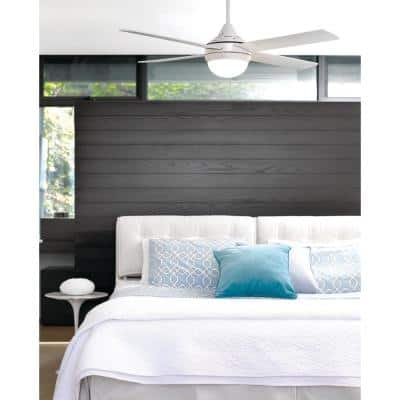 Airlie II Eco White 52 in. Light with Remote Ceiling Fan