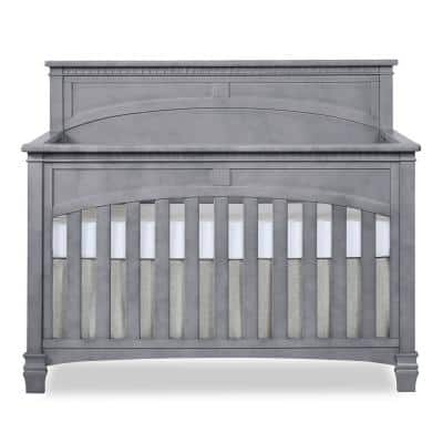 Santa Fe Storm Grey 5 in 1 Convertible Crib