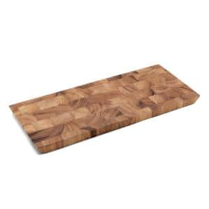 Deals on Ironwood 15 in. x 6.25 in. x 0.75 in. End Grain Cheese Board