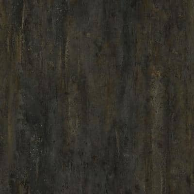 5 in. W x Multi-Length Dark Pine Peel and Stick Vinyl Wall Plank (20 sq. ft./case)