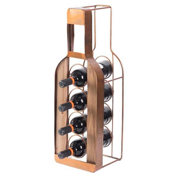 Four bottle metal wine carrier