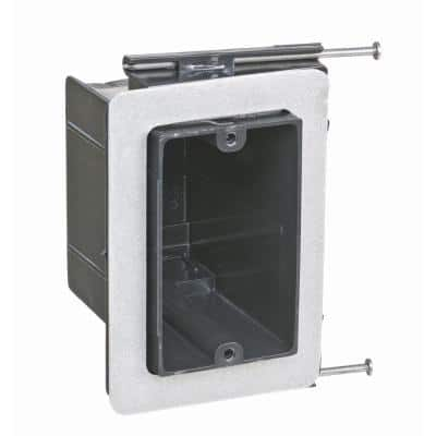 1-Gang 22-1/2 cu. in. New Work Non-Metallic Vapor Electrical Tight Wall Box