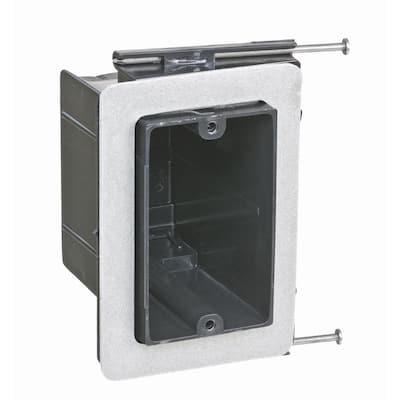 1-Gang 22-1/2 cu. in. New Work Non-Metallic Vapor Electrical Tight Wall Box