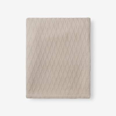 Cotton Bamboo Sand Woven Throw Blanket