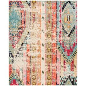 Monaco Multi 10 ft. x 14 ft. Area Rug