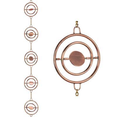 Stellar 8.5 ft. Pure Copper Rain Chain