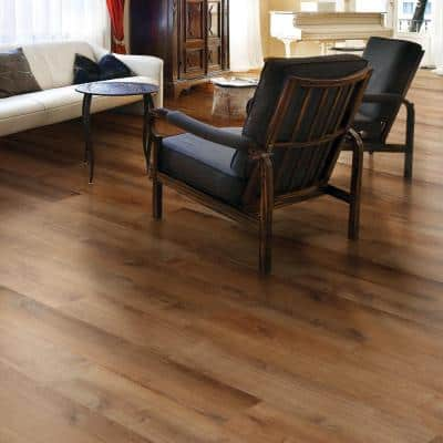 Trail Oak 8.7 in. W x 47.6 in. L Luxury Vinyl Plank Flooring (20.06 sq. ft. / case)