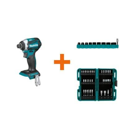 18-Volt LXT Brushless 3-Speed Impact Driver with ImpactXPS 10 Pc. Impact Socket Set and ImpactXPS 35 Pc. Impact Bit Set