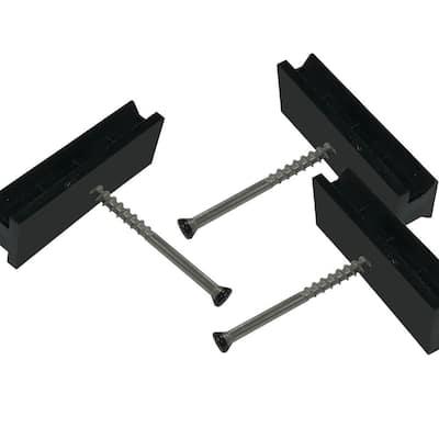 Step-Clip Deck Fastenators with Steel Screws (100-Count)
