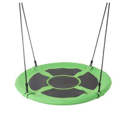 40 in. Dia Saucer Swing with Adjustable Rope